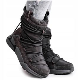 Women's snow boots Big Star Gray GG274629 grey 4
