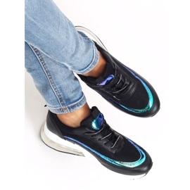 Black sports shoes for women LL1758 Black 1
