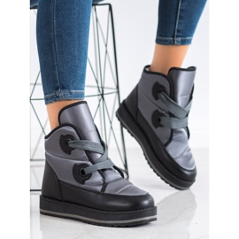 SHELOVET Fashionable Snow Boots grey 1