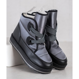 SHELOVET Fashionable Snow Boots grey 3