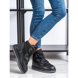 SHELOVET Fashionable Snow Boots black 1