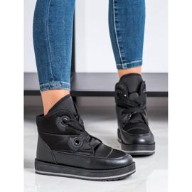 SHELOVET Fashionable Snow Boots black 3