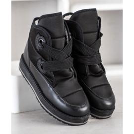 SHELOVET Fashionable Snow Boots black 2
