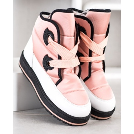 SHELOVET Fashionable Snow Boots pink 2