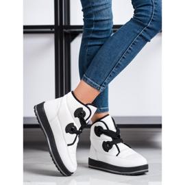 SHELOVET Fashionable Snow Boots white 1