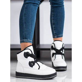 SHELOVET Fashionable Snow Boots white 2