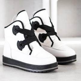 SHELOVET Fashionable Snow Boots white 3