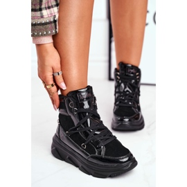 Kylie Crazy Women's Sneakers Black Snow boots Missy 3