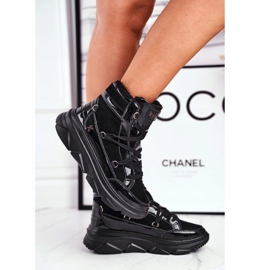 Kylie Crazy Women's Sneakers Black Snow boots Missy 1