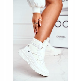 Kylie Crazy Women's Sneakers White Snow boots Missy 2