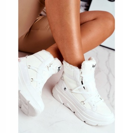 Kylie Crazy Women's Sneakers White Snow boots Missy 4