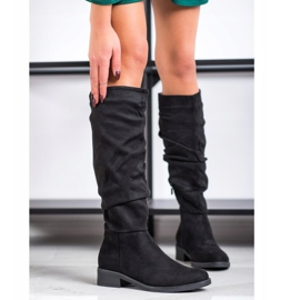 Sweet Shoes Suede boots black 2