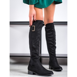 Evento Boots With A Decorative Belt black 2