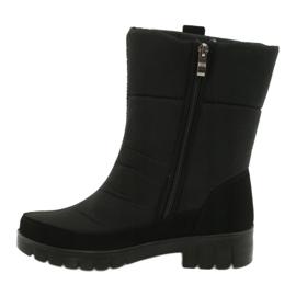 Light Fur Snow Boots Progress 20-09 black 1