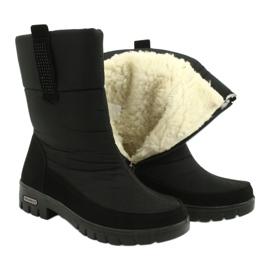 Light Fur Snow Boots Progress 20-09 black 4