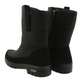 Light Fur Snow Boots Progress 20-09 black 3