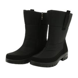 Light Fur Snow Boots Progress 20-09 black 2