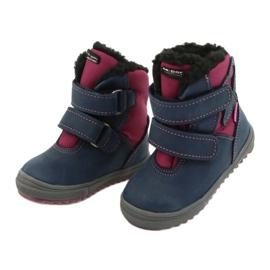Boots boots with TE-POR Mazurek 1351 M membrane navy pink 2