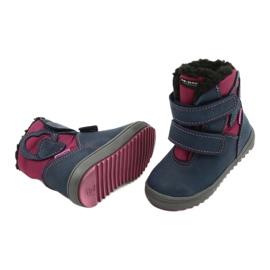 Boots boots with TE-POR Mazurek 1351 M membrane navy pink 3