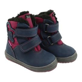 Boots boots with TE-POR Mazurek 1351 M membrane navy pink 4