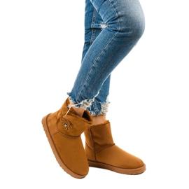 Brown insulated boots, emu Harelana type 1