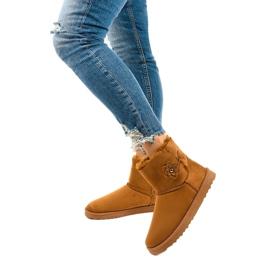 Brown insulated boots, emu Harelana type 2