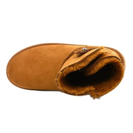 Brown insulated boots, emu Harelana type 3