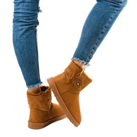 Brown insulated boots, emu Harelana type 4
