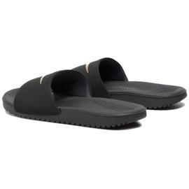 Nike Kawa Slide (GS / PS) black slippers for kids 819 352 003 3