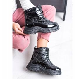 SHELOVET Snow Boots On The Slider black 3