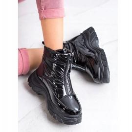 SHELOVET Snow Boots On The Slider black 1