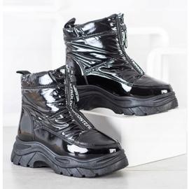 SHELOVET Snow Boots On The Slider black 2