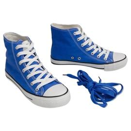 High-top Sneakers Konwers 8222 Blue 3
