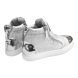 High-top Sneakers Q55 Silver 4