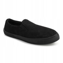 Slip On Sneakers Slip On SNK18 Black 4