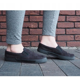 Slip On Sneakers Slip On SNK18 Black 1