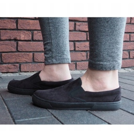 Slip On Sneakers Slip On SNK18 Black 3