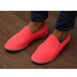 Lycra BL180 Pink Slip-On Sneakers 1