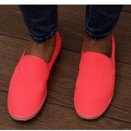 Lycra BL180 Pink Slip-On Sneakers 3