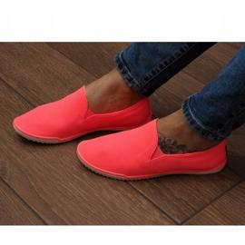 Lycra BL180 Pink Slip-On Sneakers 4