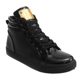 High-top Sneakers B11 Black 1
