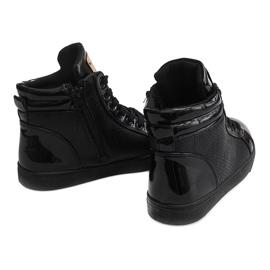 High-top Sneakers B11 Black 3