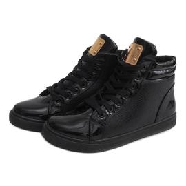 High-top Sneakers B11 Black 4