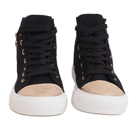 High Slider Hit Sneakers Sneakers H-11 Black white 4