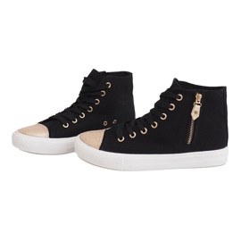 High Slider Hit Sneakers Sneakers H-11 Black white 1
