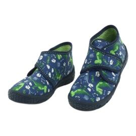 Befado children's shoes 538P037 blue green 3