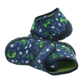 Befado children's shoes 538P037 blue green 5