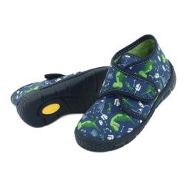 Befado children's shoes 538P037 blue green 4