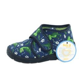 Befado children's shoes 538P037 blue green 6