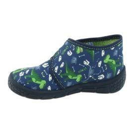 Befado children's shoes 538P037 blue green 2